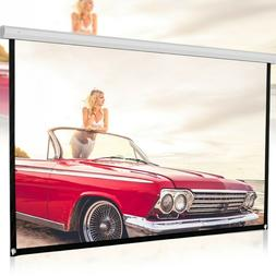 120 inch 16:9 Portable Screen HD Projector Projection Screen