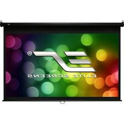 Elite Screens Manual B, 120-INCH 16:9, Manual Pull Down Proj