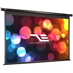 Elite Screens VMAX2, 100-inch 4:3, Wall Ceiling Electric Mot
