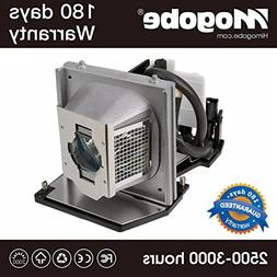 Mogobe For 2400MP Replacement Projector Lamp with Housing fo