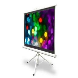 "40"" Video Projector Screen, Easy Fold-Out & Roll-Up Projecti"