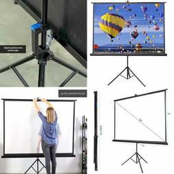"VIVO 84"" Portable Indoor Outdoor Projector Screen, 84 Inch D"