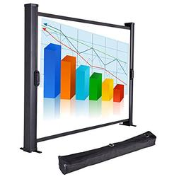 "Yescom 30"" Diagonal Tabletop Mini Projector Screen Projectio"