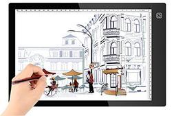 A4 Size Ultra-Slim Portable LED Light Box Tracer Light LED A