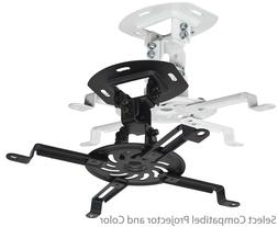 Adjustable Ceiling Projection Swivel Mount for Home Theater