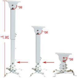 Adjustable LCD DLP Projector Ceiling Mount Bracket Tilting S