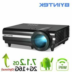 Android Wifi Smart Video LED Projector Proyector Full HD 108