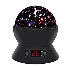 Baby Room Night Lamp Rotating Star Sky ANTEQI Lights 360 Deg