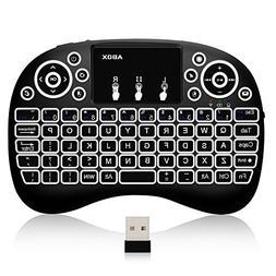 ABOX i10 Mini Wireless Keyboard, 2.4GHz Multi-Media Portable