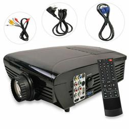BEST HD Home Theater Multimedia LCD LED Projector 720-HDMI T