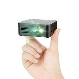 Lightwish Black WiFi DLP Mini Wireless Projector Home Cinema