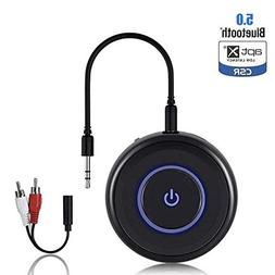Friencity Bluetooth V5.0 Audio Transmitter Receiver with apt