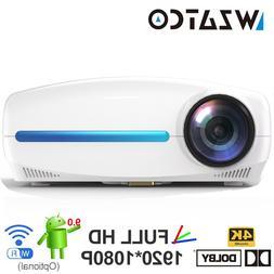 WZATCO C2 4K Full HD 1080P LED <font><b>Projector</b></font>