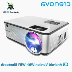CRENOVA C9 projector LED 1280*720P Android 4K Video 4000 Lum