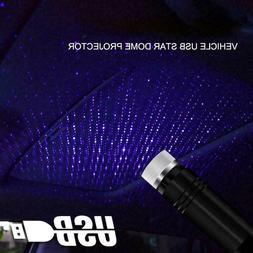 Car Decoration Projector Star Sky Ceiling Light USB LED Inte