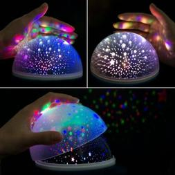 Ceiling Projector Night Light Romantic Rotating Spin Star Mo
