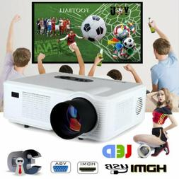 CL720 LED Projector Dual HDMI TV DVB-T video projector Home