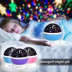 Constellation Night Light Baby boy Kids Lamp Moon Star Sky P