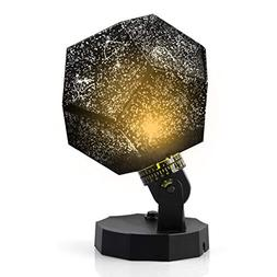 Sunnec DIY Science Sky Projection Night Light Projector Lamp