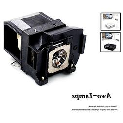 AWO Premium Replacement Lamp Housing Fit EPSON ELPLP85 / V13