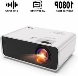 Artlii Enjoy Portable Mini Projector w/ ±45° Digital 4D Ke