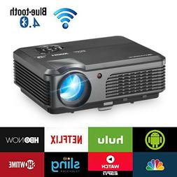 Full HD 1080P LED LCD VGA HDMI TV Home Theater Projector Cin