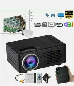 Full HD 1080p TFT LCD Projector Home Theater Cinema Multimed