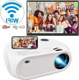 Full HD 1080P 4200 Lumens Wireless WiFi Portable Home Movie