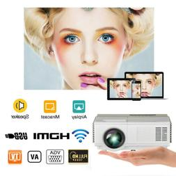 Full HD Portable WIFI Android Video Projector Home Theater B