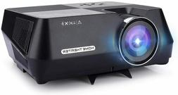 Full HD Theater Projector Cinema 1080P LED  LCD VGA HDMI TV