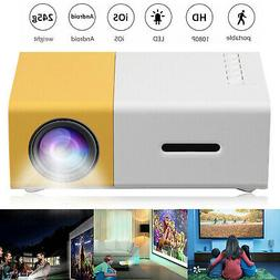 1080p Full HD LED Portable Projector Home Theater Cinema for
