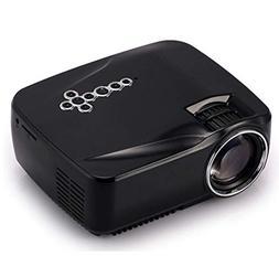 GP70UP Mini LED Projector 1080P HD, Portable HD Projector, H