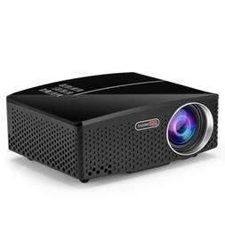 GP80 LED 1800 Lumens HD Mini Portable Projector  Supprot 108