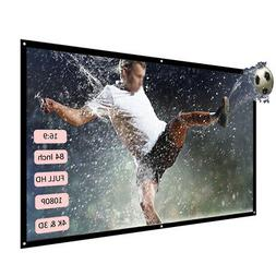 Portable Foldable Projector Mini Theater 1920*1080 LED HD LC