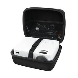 Hermitshell Hard EVA Travel Case fits DBPOWER Mini Projector