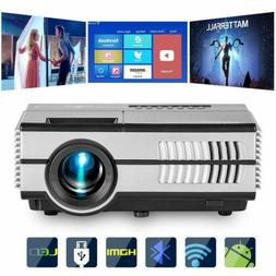 Android Wifi 1080p Video Projector LCD LED Full HD Theater w