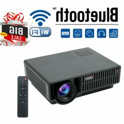 HD 1080P LED Home Theater Projector Party Photo Cartoon Film
