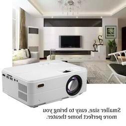 HD 1080P Mini 4 Inch WIFI Projector LED Multimedia Home Thea
