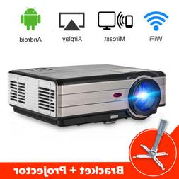 HD Android Home Theater Projector Online Movie WIFI Netfilx