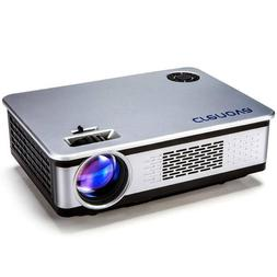 CRENOVA- HD Home Projector, 2018 Upgraded-1080P w/ 200' Disp