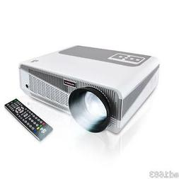 "HD LCD + LED Smart Projector Up to 120"" w Android High Speed"