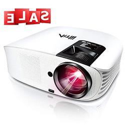 HD Projector, Artlii 2019 Upgraded 3600 Lumen Movie Projecto