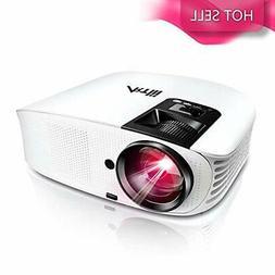 HD Projector - Artlii 2020 Upgraded 5500 LUX Movie Projector