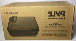 "Pyle HD Projector & 50"" Screen 1080P 2400 Lumens Office Ho"