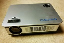 Crenova HD1080p 60 fps Projector In Box With Remote and Acce