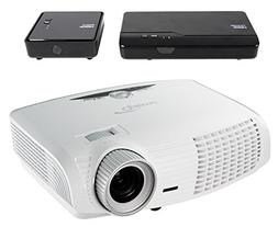 Optoma HD25-LV-WHD 1080p 3D DLP Home Theater Projector Bundl