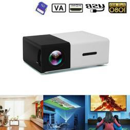 Home Cinema Theater USB HDMI AV SD Mini Portable HD LED 1080