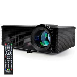 Pyle Home PRJLE33 Widescreen Projector / 1080p HD / Portable