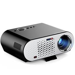 Home Projector Led Miniature Portable Office WiFi Wireless P