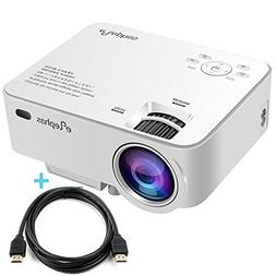 ELEPHAS 1500 Lumens LED Video Home Projector, LCD Pico Mobil